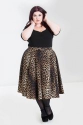 PRE ORDER: Panthera 50's Skirt - Leopard Print