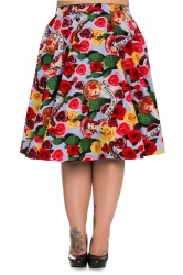 PRE ORDER: Mexico 50's Skirt - Blue