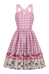 PRE ORDER: Strawberry Shortcake Dress - Pink