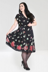 PRE ORDER: Jolie Papillon Dress - Black