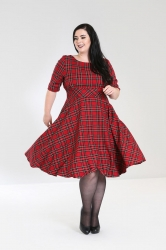PRE ORDER: Irvine 50's Dress - Red