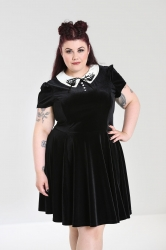 PRE ORDER: Graveyard Mini Dress - Black