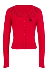 PRE ORDER: Spider Cardigan - Red