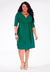 PRE ORDER: Dominique Dress - Jade