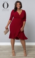 PRE ORDER: Whimsy Wrap Dress - Red-y for Love