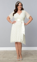PRE ORDER: Lace Confections Wedding Dress - Ivory
