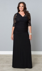 PRE ORDER: Soiree Evening Gown - Onyx