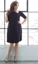 PRE ORDER: Serenade Swing Dress - Black Noir