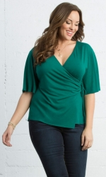 PRE ORDER: Hope Cinch Top - Promise Green