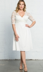 PRE ORDER: Lavish Lace Dress - White Jasmine