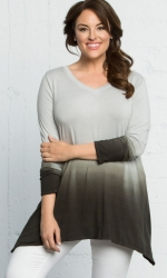 PRE ORDER: Surrender Tunic - Sage Ombre