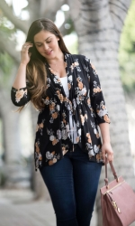 PRE ORDER: Lori Printed Bellini - Golden Bloom