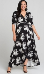 PRE ORDER: Meadow Dream Maxi Dress - Tropical Noir