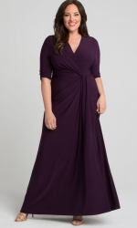 PRE ORDER: Romanced by Moonlight Gown - Imperial Plum