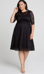 PRE ORDER: Lacey Cocktail Dress - Onyx