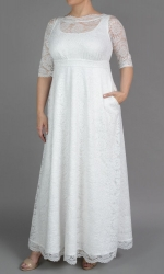 PRE ORDER: Sweet Serenity Wedding Gown - Ivory Shimmer