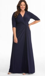 PRE ORDER: Romanced by Moonlight Gown - Nocturnal Navy