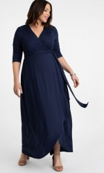 PRE ORDER: Meadow Dream Maxi Dress - Nouveau Navy