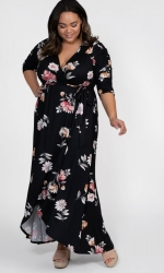 PRE ORDER: Meadow Dream Maxi Dress - Artful Blooms