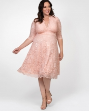 PRE ORDER: Mademoiselle Lace Dress - Soft Rose