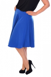 PRE ORDER: Pretty Pleated A-Line Skirt - Royal Blue