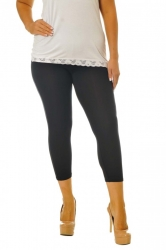 PRE ORDER: Essential Versatile Cropped Leggings - Black