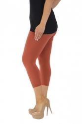 PRE ORDER: Essential Versatile Cropped Leggings - Rust