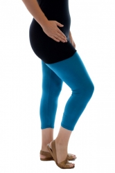 PRE ORDER: Essential Versatile Cropped Leggings - Teal