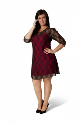 PRE ORDER: Sexy Signature Lace Dress - Red