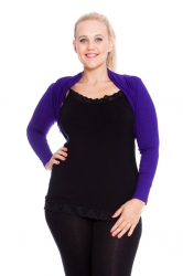 PRE ORDER: Versatile Viscose Long Sleeves / Shrug - Purple