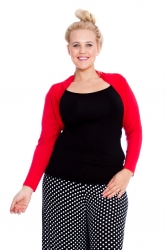 PRE ORDER: Versatile Viscose Long Sleeves / Shrug - Red