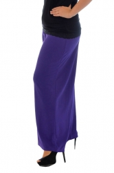 PRE ORDER: Lovely Light Crepe Palazzo Pants - Purple