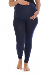 PRE ORDER: Essential Versatile Plus Size Maternity Leggings-Navy