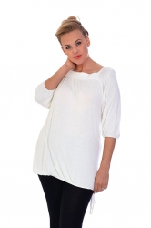 PRE ORDER: Cute Casual Square Neck Top - White