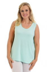 PRE ORDER: Simple Wide Strap Fitted Cami - Mint
