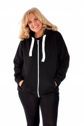 PRE ORDER: **Essential** Warm Plus Size Hoodie - Black