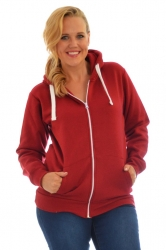 PRE ORDER: **Essential** Warm Plus Size Hoodie - Wine