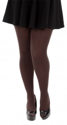 PRE ORDER: 120 Denier Opaque Tights - Chocolate