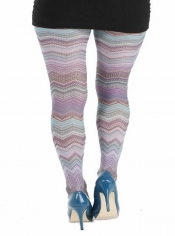 PRE ORDER: Mexican Waves Printed Tights