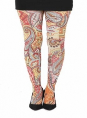 PRE ORDER: Paisley Riot Tights Yellow