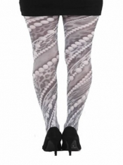 PRE ORDER: Pearls Printed Tights