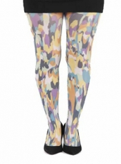 PRE ORDER: Powerful Yellow Printed Tights
