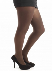 PRE ORDER: 50 Denier Opaque Tights - Chocolate