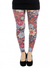 PRE ORDER: Zesty Printed Footless Tights
