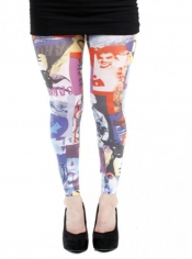 PRE ORDER: Lifestyle Printed Footless Tights