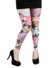 PRE ORDER: Freesia Printed Footless Tights