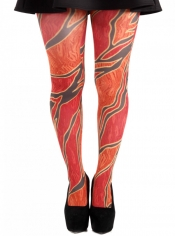 PRE ORDER: Wild Fire Printed Tights