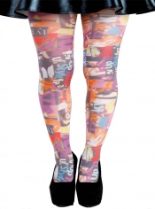 PRE ORDER: Style Up Printed Tights