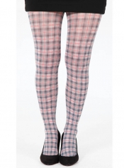 PRE ORDER: Gleve Check Printed Tights