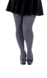 Designer Opaque Slate Tights - 120 Denier
